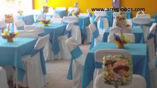 getlinkyoutube.com-Decoracion con Globos Toy Story www.arreglobos.com