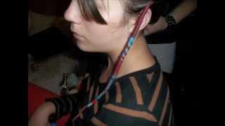 getlinkyoutube.com-Faire une atébas directement dans les cheveux !