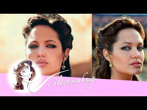 Semi-recogido de Angelina Jolie en Alejandro Magno-pedido Ladynada01