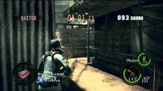 getlinkyoutube.com-Public Assembly : 1,002,658 Duo Jill BSAA & Wesker Midnight - Resident Evil 5 Mercenaries