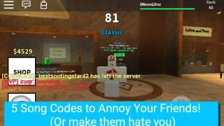getlinkyoutube.com-5 ROBLOX Radio Codes to Annoy Your Friends With