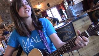 "Cassia Dawn sings Mat Kearney's ""Hey Mama"" at Sisters Coffee Company"