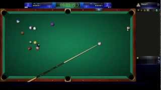 getlinkyoutube.com-GameZer Billiards V6 Spin shots