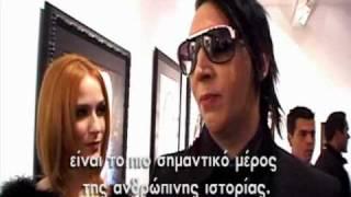 getlinkyoutube.com-Marilyn Manson Exclusive Interview  On Myspace Greece!!!