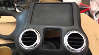 getlinkyoutube.com-Jeep Punisher Edition Ep.30 Jeep Wrangler iPad Mini Slider Custom Dash Kit