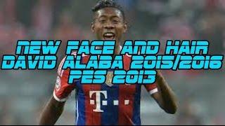 getlinkyoutube.com-NEW FACE AND HAIR DAVID ALABA 2015/2016 | PES 2013