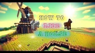 getlinkyoutube.com-How to Ride a Horse (Minecraft 1.8.7)