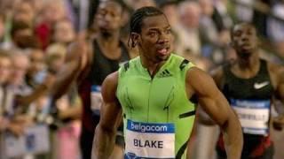 getlinkyoutube.com-Yohan Blake gets 19.26, Walter Dix wins Diamond - from Universal Sports