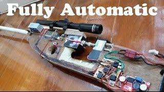 getlinkyoutube.com-Homemade Airsoft Auto Sniper Rifle