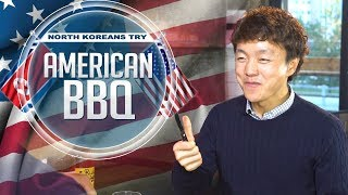 getlinkyoutube.com-North Koreans Try American BBQ [Full video]
