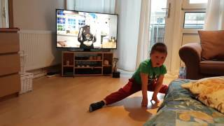 karate kid kajus split