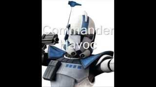 Star Wars The Clone Wars Clone Troopers And Commanders Memorial
