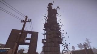 getlinkyoutube.com-リアルマインクラフトで他人のビルを倒壊させてみた