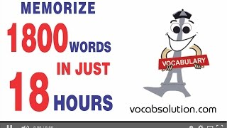 getlinkyoutube.com-bank po exam full preparation video course | Memorize 1800 Words In Just 18 Hours