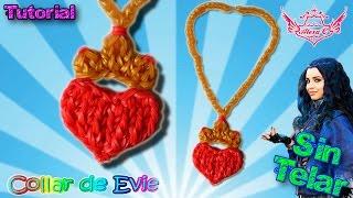 getlinkyoutube.com-♥ Tutorial: Collar Evie de gomitas (sin telar) ♥