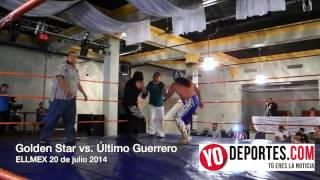Golden Star vs Último Guerrero