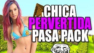 getlinkyoutube.com-TROLLEO A CHICA PERVERTIDA QUE PASA PACK/TROLLEO EN MINECRAFT
