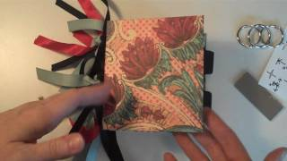 getlinkyoutube.com-3-Ring Binding for Mini Albums
