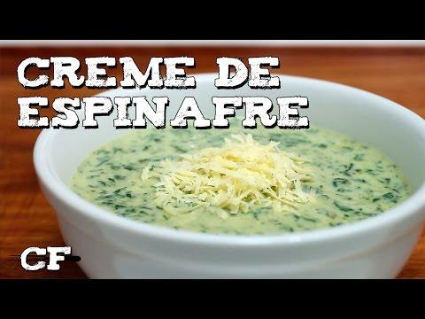 Creme de espinafre @CookFork