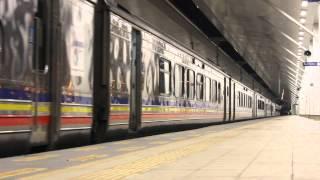 (HD) YDM4 no.6428+6657 Express Train 21 Departing Butterworth Station.
