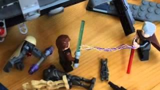 getlinkyoutube.com-Lego Gwiezdne Wojny - Dooku atakuje!