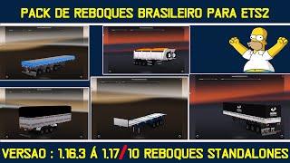 getlinkyoutube.com-Pack de reboques brasileiros para ets 2 - Versao 1.17