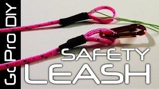 getlinkyoutube.com-How to make a SAFETY LEASH for your GoPro camera - GoPro DIY #6