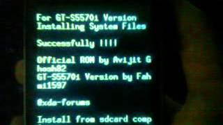 install jellyblast v3 on galaxy gt-S5570I arabic