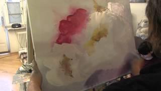 getlinkyoutube.com-Цветок мастихином , научиться рисовать цветы, купить мастихин 61