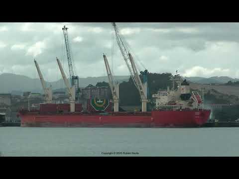 Click to view video FEDERAL BISCAY IMO 9697856 V7NC8 MARSHALL ISLANDS grabado en AVILES en HD el 20.01.2020 por Ruben Hevia.