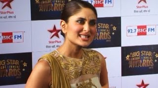 getlinkyoutube.com-Kareena Kapoor EXPOSES Ranbir & Katrina @ Big Star Entertainment Awards 2013