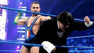 getlinkyoutube.com-Santino Marella vs. Ricardo Rodriguez: SmackDown - May 25, 2012