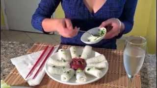 getlinkyoutube.com-Banh Hoi-Vietnamese Rice Vermicelli-Steamed Banh Hoi-Banh Cuon-Vietnamese Food Recipes