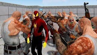 getlinkyoutube.com-PHOENIX SPIDER-MAN VS THE JOKER'S THUG ARMY - EPIC BATTLE