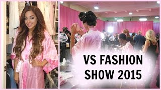 getlinkyoutube.com-VS FASHION SHOW VLOG| backstage, haul, & MORE