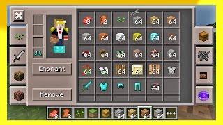 getlinkyoutube.com-มอดเสกของ + วิธีลง Too Many Items Toolbox | Minecraft PE 0.13.1