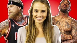 Craziest NBA Tattoos | #Swaglist With Rachel DeMita