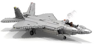 getlinkyoutube.com-Lego F-22 RAPTOR