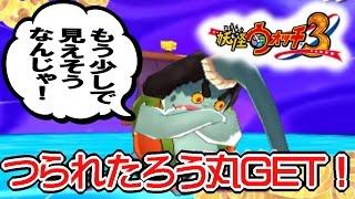 getlinkyoutube.com-【妖怪ウォッチ3】つられたろう丸GET!(入手方法・出現場所・スキル・能力検証)