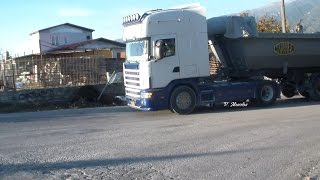 getlinkyoutube.com-Scania 164 ??? DASTAMANIS Straight Pipe Sound
