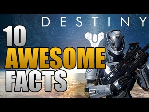 Destiny - 10 Awesome Confirmed Facts! (Destiny News)