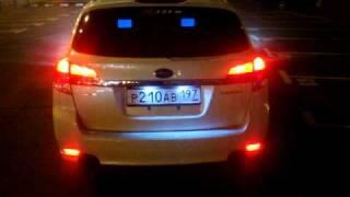 getlinkyoutube.com-Subaru Legacy wagon BR9  exhaust in Russia. Vol.1