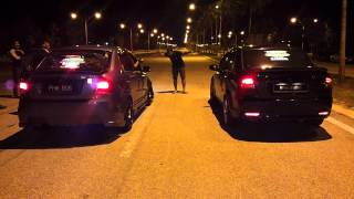 getlinkyoutube.com-Touge Battle of Saga BLM Auto Transmission