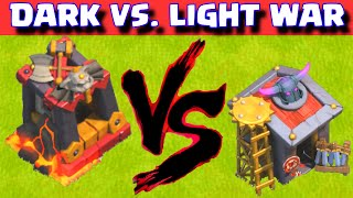 Clash of Clans ALL DARK TROOPS VS ALL LIGHT TROOPS ★ COC CLAN WAR EVENT ★