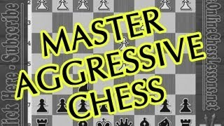 Chess For Beginners ⚔ How To Attack! (FM Lilov) width=