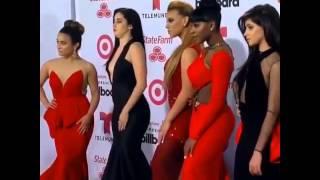 getlinkyoutube.com-Fifth Harmony on the white carpet at the Latin Billboard Awards