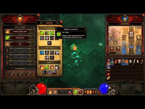 Diablo 3 Witch Doctor Playthrough & Gameplay