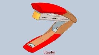 getlinkyoutube.com-Stapler (Volume-2) Video Tutorial -- SolidWorks