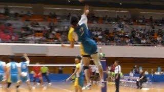 getlinkyoutube.com-Volleyball 愛知県(星城) vs 大阪府(大塚 清風) 2S 少年男子決勝 東京国体 2013.10.2