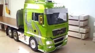 getlinkyoutube.com-TAMIYA  MAN TGX 680 V8